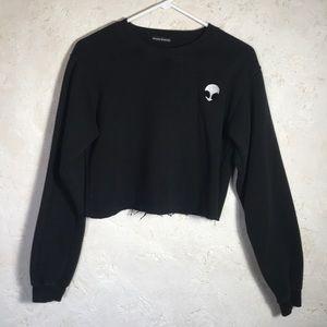 Bradley Michelle Cropped Alien Sweatshirt